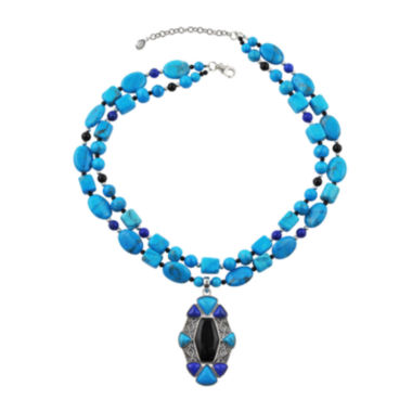jcpenney.com | Art Smith by BARSE Genuine Howlite Necklace