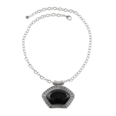 jcpenney.com | Art Smith by BARSE Onyx Pendant Necklace