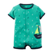 Carter's® Short-Sleeve Creeper - Baby Boys newborn-24m