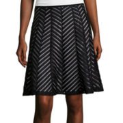 Worthington® Spliced Flared Skirt