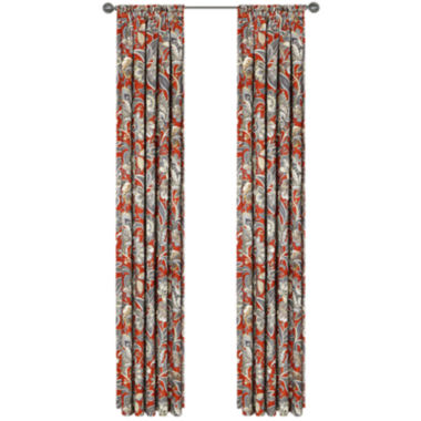 jcpenney.com | Ventura Lined Rod-Pocket Curtain Panel