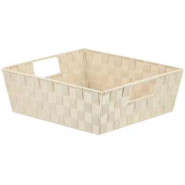 "jcpenney.com | Home Basics 10"" Wide Non-Woven Open Storage Bin"
