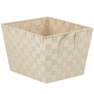 "jcpenney.com | Home Basics 7"" Wide Non-Woven Open Storage Bin"