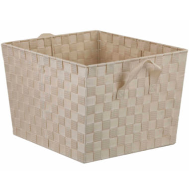 "jcpenney.com | Home Basics 12"" Wide Non-Woven Open Storage Bin"