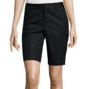 Liz Claiborne® Double Cotton Bermuda Shorts