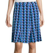 Liz Claiborne® Printed Knit Skirt