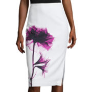 Worthington® Side-Slit Pencil Skirt - Tall