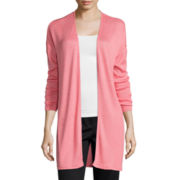 Worthington® Long-Sleeve Knit Cardigan