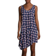 Stylus™ Draped Tank Dress - Tall
