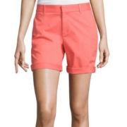 Stylus™ Twill Bermuda Shorts - Tall
