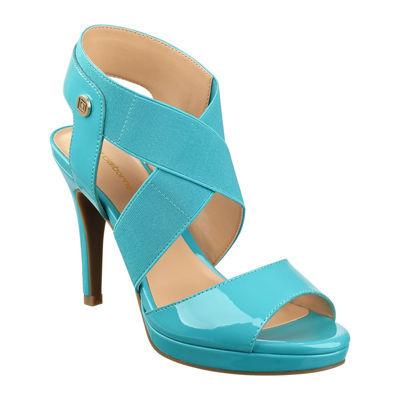 liz claiborne dapper high heel sandals jcpenney