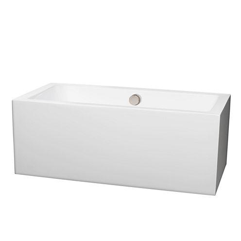 Wyndham Collection Melody 60 inch Freestanding Bathtub