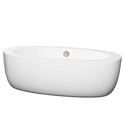 Wyndham Collection Uva 69 inch Freestanding Bathtub