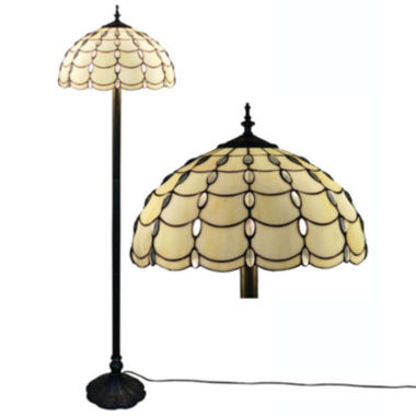 jcpenney.com | Amora Lighting AM1044FL16 Tiffany Style Cascades Floor Lamp 61 Inches Tall