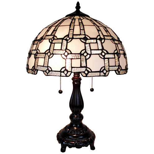 Amora Lighting AM109TL14 Tiffany Style Table Lamps20 Inches High