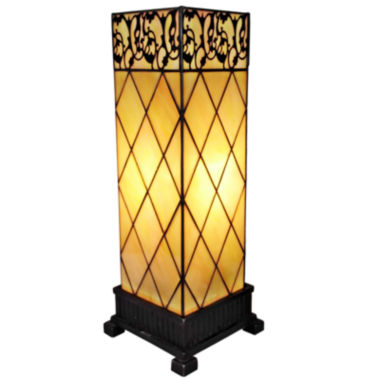 jcpenney.com | Amora Lighting AM112TL06 Tiffany Style Table Lamp17 In High