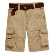 Arizona Belted Cargo Short – Boys 8-20, Slim and Husky
