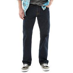 2 Pairs Arizona Basic Original Straight Mens Jeans - Multi Colors