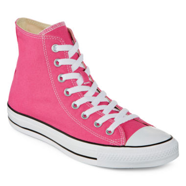 jcpenney.com | Converse Chuck Taylor All Star Womens High-Top Pink Paper Sneakers - Unisex Sizing