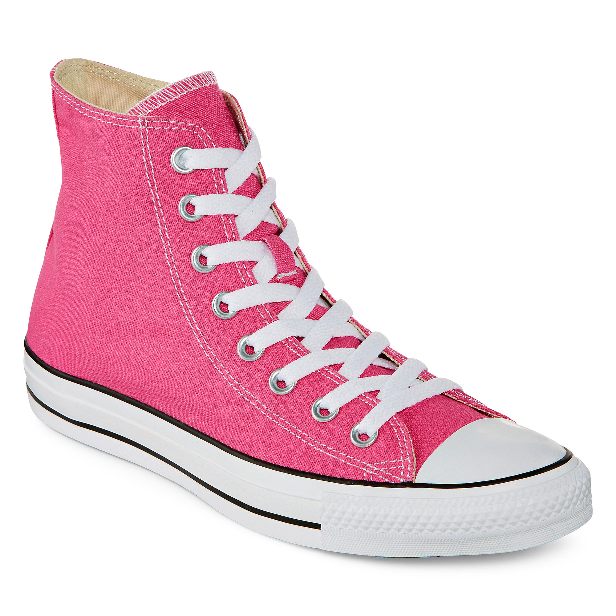 Converse Chuck Taylor All Star Womens High-Top Pink Paper Sneakers - Unisex Sizing plus size,  plus size fashion plus size appare
