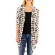 Arizona Dolman-Sleeve Print Hatchi Duster