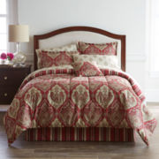 Home Expressions™ Chandler Damask Complete Bedding Set with Sheets Collection