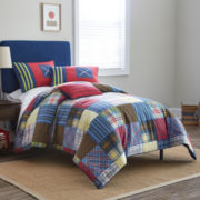 Frank and Lulu Preppy Plaid Comforter Set