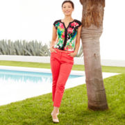 Worthington® Print Top or Slim Ankle Pants - Petite
