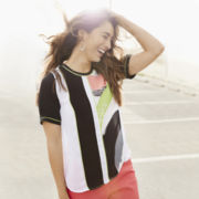 Worthington® Short-Sleeve Colorblock Tee