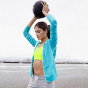 Nike® Club Jersey FZ Hoodie, Victory Compression Bra, or NSW French Terry Capris