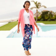 a.n.a® Flyaway Cardigan or Maxi Skirt - Plus