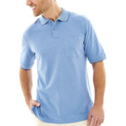 Haggar® Short-Sleeve Mini Box Polo