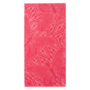 Outdoor Oasis Jacquard Butterfly Beach Towel