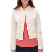 a.n.a® Classic Denim Jacket - Tall