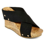 a.n.a® Lexi  X-Band Wedge Sandals