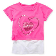 Total Girl® Crop Top and Cami - Girls 7-16 and Plus