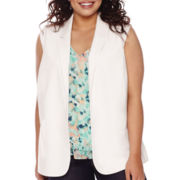 Decree® Blazer Vest - Juniors Plus