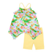 Little Lass® 2-pc. Dress and Leggings Set - Baby Girls 3m-24m