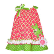 Bonnie Jean® Sleeveless Print Sundress - Baby Girls 12m-24m