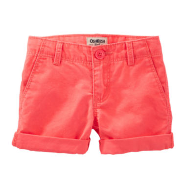 jcpenney.com | OshKosh B'gosh® Cotton Shorts - Preschool Girls 4-6x