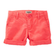 OshKosh B'gosh® Cotton Shorts - Preschool Girls 4-6x