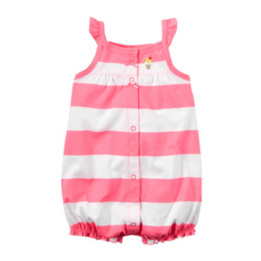 jcpenney.com | Carter's® Ice Cream Romper - Baby Girls newborn-24m