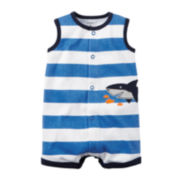 Carter's® Sleeveless Shark Romper - Baby Boys newborn-24m