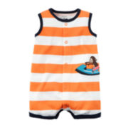 Carter's® Sleeveless Monkey Romper - Baby Boys newborn-24m