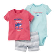 Carter's® 3-pc. Shark Set - Baby Boys newborn-24m