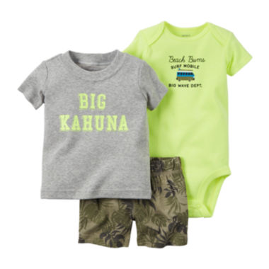 jcpenney.com | Carter's® 3-pc. Big Kahuna Set - Baby Boys newborn-24m