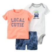 Carter's® 3-pc. Cool Dude Set - Baby Boys newborn-24m