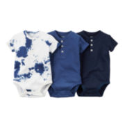 Carter's® 3-pk. Short-Sleeve Bodysuits - Baby Boys newborn-24m