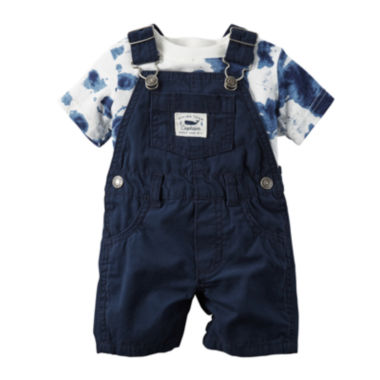 jcpenney.com | Carter's® Shortalls and Tee Set - Baby Boys newborn-24m