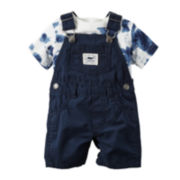 Carter's® Shortalls and Tee Set - Baby Boys newborn-24m